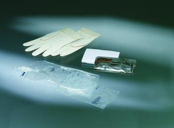 Image 0 of Touchless Plus Catheter Kit 14Fr Vinyl Each