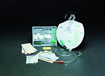 Image 0 of Catheter Insert Foley Kit 18Fr Closed Each