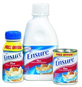 Image 0 of Ensure Plus Nutrional Supplement Strawberry 8 oz Each