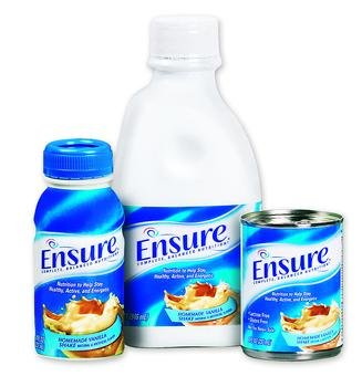Image 0 of Ensure Nutrional Supplement Strawberry 8 oz Case of 24