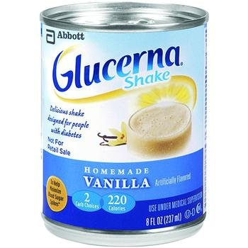 Image 0 of Glucerna Diabetic Shake Butter Pecan 8 oz Case of 24
