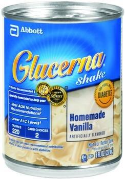 Image 0 of Glucerna Diabetic Shake Vanilla 8 oz Case of 24