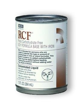Image 0 of Rcf Carbohydrate Free Soy Formula Base With Iron Liquid 13 oz Can Case of 12