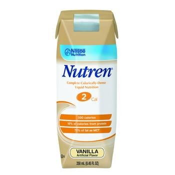 Image 0 of Nutren 2.0 Vanilla 250 ml Case of 24