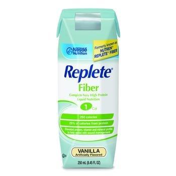 Image 0 of Replete W-Fiber Vanilla 250 ml Case of 24