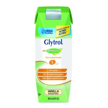 Image 0 of Glytrol Splmt Vanilla 250ml Case of 24