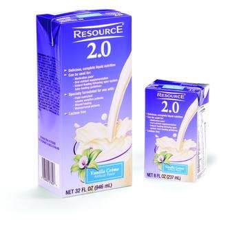 Image 0 of Resource 2.0 Vanilla 8 oz Box Case of 27