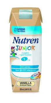 Image 0 of Nutren Jr Vanilla Liquid Nut-N 250 ml Case of 24