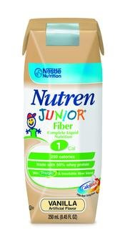 Image 0 of Nutren Jr W-Fiber Vanilla 250ml Case of 24
