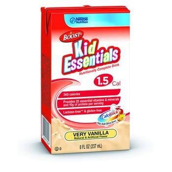 Image 0 of Boost Kid Essentials 1.5 Vanilla Case of 27