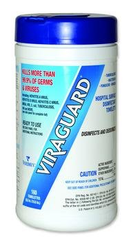 Viraguard Surface Disinf Wipe Box of 160