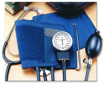Image 0 of Invacare Blood Pressure Kit W-Atch Stethoscope Xlg Cuff Each