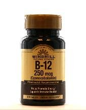 Image 0 of Windmill  Vitamin B12 250 Mcg 100 Tablet