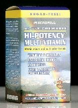 Adult Chew able Hi Potency Multivitamin Wafer 60