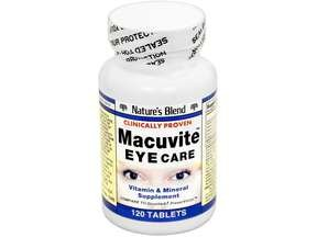 Image 0 of Natures Blend Macuvite 120 Tablet