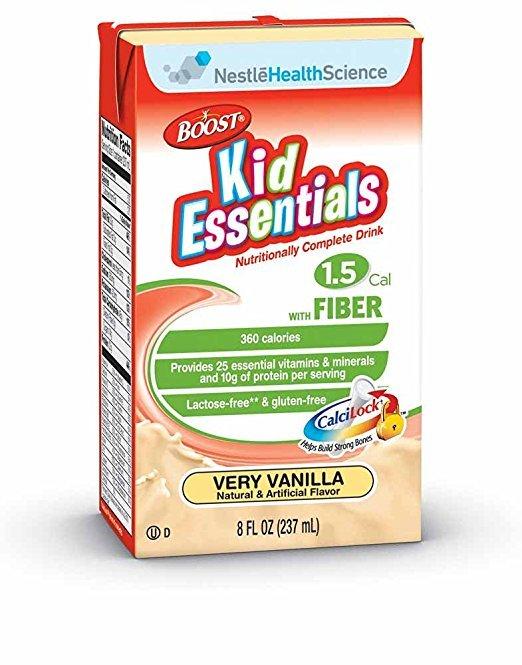 Image 0 of Boost Kid Essentials With Fiber Liquid Vanilla 27 x 237ml