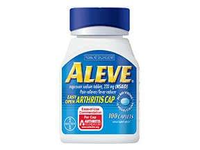 Aleve Arthritis Cap Ezy Open 100 Caplets