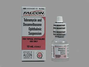 Tobramycin-Dexamethasone 0.3-0.1% Drop 10 Ml By Falcon Pharma