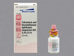 Tobramycin-Dexamethasone 0.3-0.1% Drop 2.5 Ml By Valeant Pharma