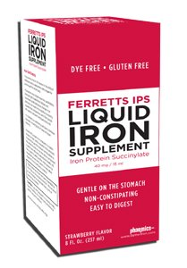 Image 0 of Ferretts Ips 40mg/15ml Iron Supplement Liquid 8 oz