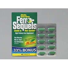 Ferro Sequels Hi Potency Iron 30 Tablet