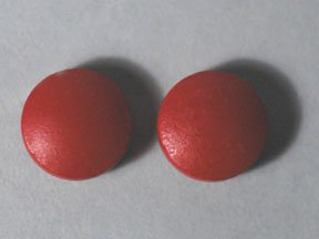 Image 0 of Ferrous Sulfate 325 Mg Red 100 Unit Dose Tablet