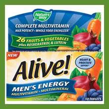 Image 0 of Alive Daily Mens Energizer Table Sts 50 In Each