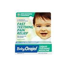 Orajel Baby Teething Nighttime Formula Gel 0.18 Oz