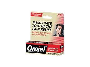 Orajel Maximum Oral Pain Gel 0.25 Oz