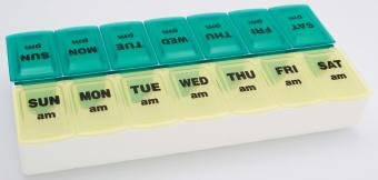 Image 0 of Twice A Day Weekly Pill Organizer 70059B By Apex