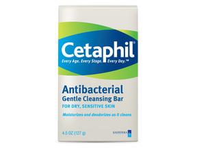 Cetaphil Antibacterial Bar 4.5 Oz