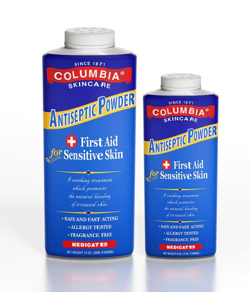 Columbia Antiseptic Powder 6 oz