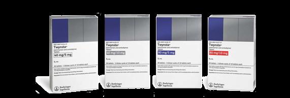 Twynsta 10-40mg Tablets 3X10 Each By Boehringer Ingelheim