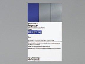 Twynsta 5-80 Mg Tabs 30 By Boehringer Ingelheim.
