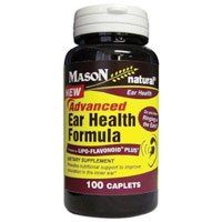 Image 0 of Mason Natural Advanced Ear Health Formula For Better Ear Blood Circulation - 100