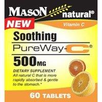 Image 0 of Mason Natural Soothing Pureway-C 500 mg Tablets - 60 Each