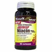 Image 0 of Mason Natural Niacin 750 mg (Flush Free) 50 Capsules