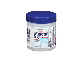 Mineral Ice Gel 3.5 Oz