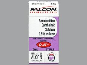 Apraclonidine 0.5% Drops 5 Ml By Sandoz Rx