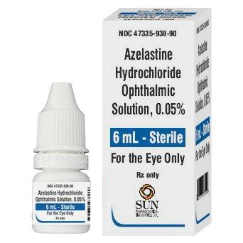Azelastine Hcl 0.05% Drops 6 Ml By Caraco Pharma.