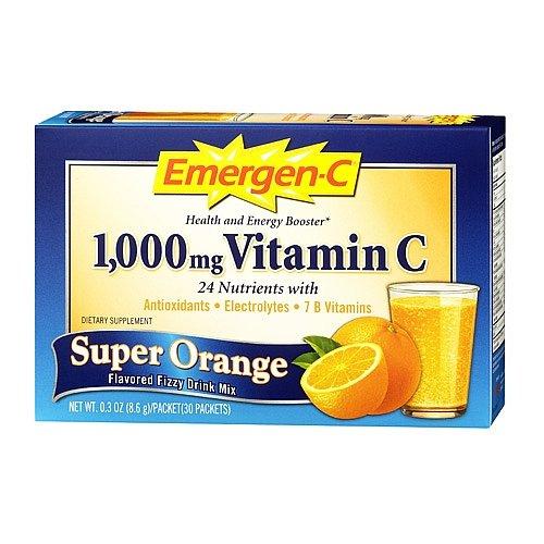 Emergen-C Super Orange 30 Each