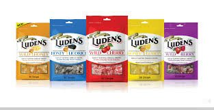 Image 1 of Ludens Cough Drop Bag Wild Cherry 30 Ct.