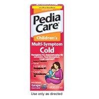 Image 0 of PediaCare Childrens Multi-Symptom Cold Relief Liquid Grape Flavor - 4 oz