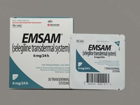 Emsam 6mg/24hr Patches 30 By Mylan Specialty.