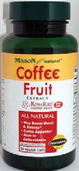 Image 0 of Mason Vitamins Naturals Kona Red Coffe Cherry 400mg Vaggie Caps