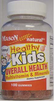 Image 0 of Mason Healthy Kids Gummies Multivitamins and Minerals
