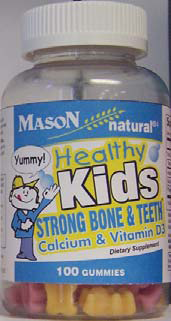 Image 0 of Mason Healthy Kids Gummies Vitamins with Calcium and Vitamin D3