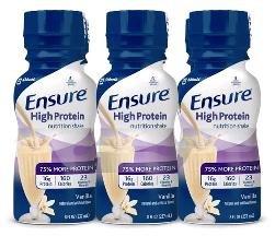 Ensure Act Hi Pro Muscle Vanilla 4 x 6 x 8 Oz