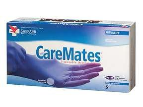 Image 0 of Caremates Gloves Nitrile 1X100 Shepard Medical Products