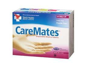 Image 0 of Caremates Gloves VYT1X50 Shepard Medical Products